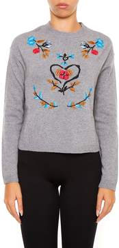 RED Valentino Embroidered Pull