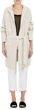 ATM Anthony Thomas Melillo Women's Wool-Blend Hooded Wrap Cardigan