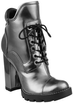 GUESS Roxey Lace-Up Booties