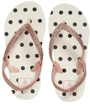 Reef Girl's Little Stargazer Print Flip Flop