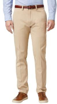 Lacoste Big and Tall Cotton Flat Front Chinos Pants Khaki 43 Waist