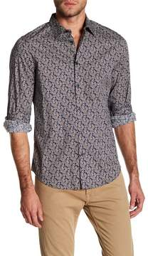 Perry Ellis Patterned Stretch Fit Shirt