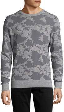 J. Lindeberg Men's Fred Camouflage Wool Sweater