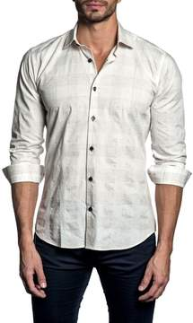 Jared Lang Trim Fit Check Sport Shirt