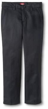 Dickies Girls' Slim Fit Flat Front Pants