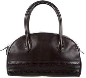 Alaia Leather Bowler Bag