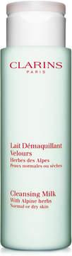 Clarins Cleansing Milk with Alpine Herbs, 7oz