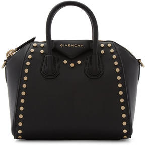 Givenchy Black Mini Studded Antigona Bag