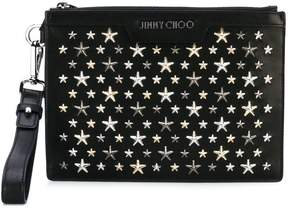 Jimmy Choo 'Derek' studded clutch