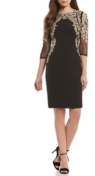 Antonio Melani Natalie Embellished Sheath Dress