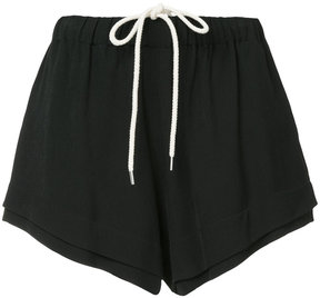 Bassike layered shorts
