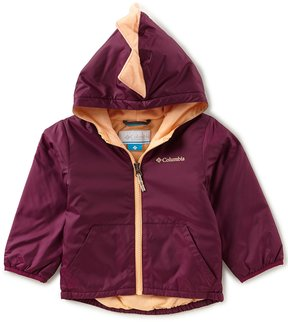 Columbia Little Girls 2T-4T Kitterwibbit Dinosaur Jacket