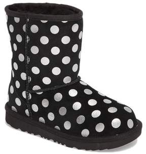 UGG Classic Metallic Dot UGGpureTM Lined Boot (Toddler)