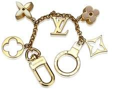 Louis Vuitton Pre-owned: Fleur De Monogram Keychain.