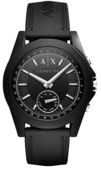 Armani Exchange Connected Drexler Silicone Hybrid Smartwatch