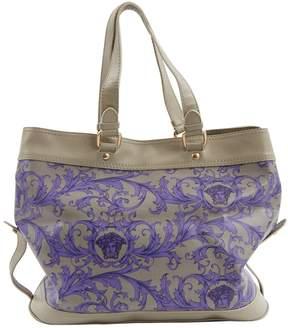 Versace Multicolour Leather Handbag