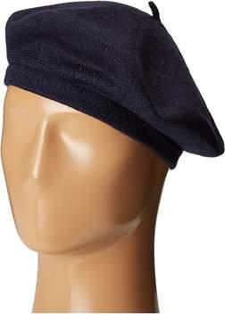 Echo Solid Beret Hat Beanies