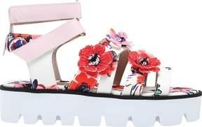 MSGM Floral Lug Sole Sandal (Women's)