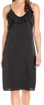 BCBGeneration Womens Chameuse Ruffled Cocktail Dress