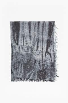 French Connection Monochrome Tie Dye Scarf