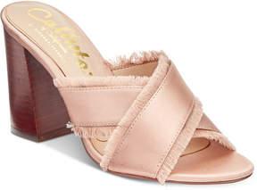 Callisto Monakko Block-Heel Dress Sandals Women's Shoes