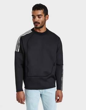 adidas X Kolor Spacer Crew in Black