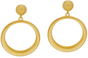 Elizabeth Taylor As Is The Front Facing Hoop Earrings