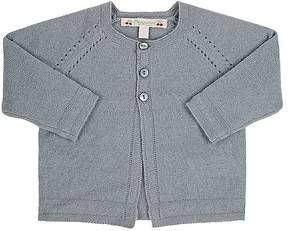 Bonpoint Pointelle-Stitched Cashmere Cardigan