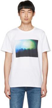 A.P.C. White Gig T-Shirt