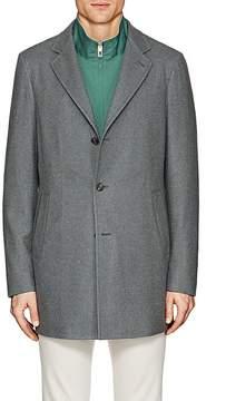 Loro Piana Men's Brushed Cashmere Topcoat