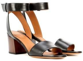 Givenchy Paris leather sandals
