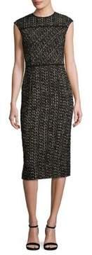 Agnona Wool Tweed Dress