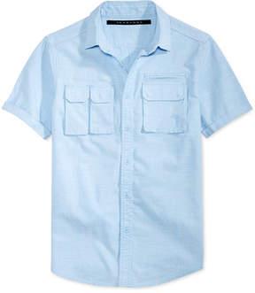Sean John Men's Multi-Pocket Cotton Shirt, Created for Macy's