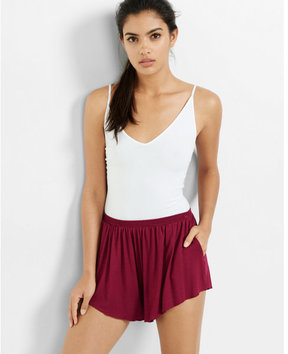 Express one eleven abbreviated v-neck cami