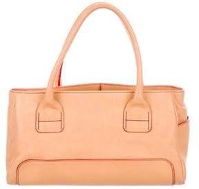 Hogan Leather Handle Bag