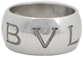Bulgari Bvlgari 18k White Gold Ring Size 7.5