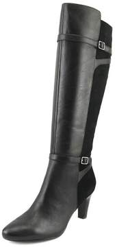 Lauren Ralph Lauren Sabeen Women US 9.5 Black Knee High Boot
