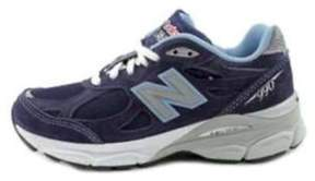 New Balance Womens W990 Running Course Low Top Lace Up Running Sneaker.