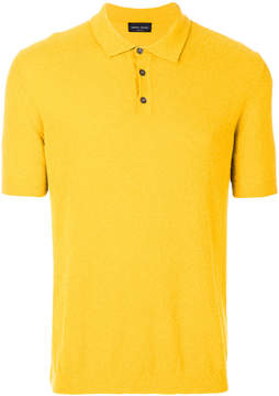 Roberto Collina classic fitted polo top