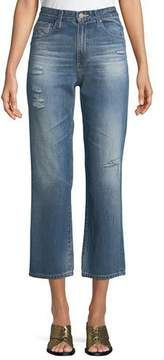 AG Jeans Rhett Straight-Leg Ankle Jeans