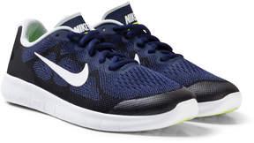Nike Blue Free Run 2 Junior Trainers