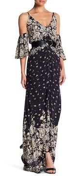 Billabong Desert Dance Cold-Shoulder Maxi Dress