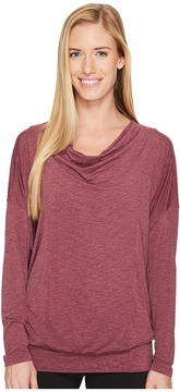 Lucy To The Barre Long Sleeve Women's Long Sleeve Pullover