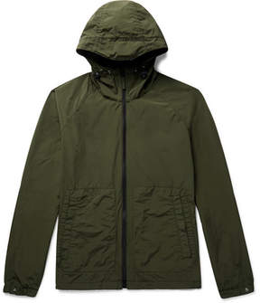 Aspesi Garment-Dyed Shell Hooded Jacket