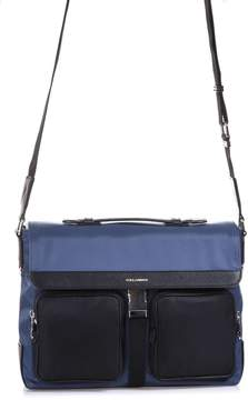 Dolce & Gabbana Nylon & Leather Crossbody Bag