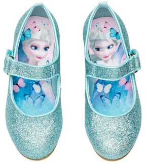 H&M Glittery Dress-up Shoes