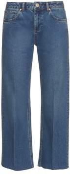 Raey Flood flared jeans