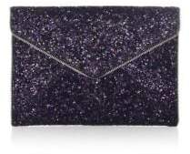 Rebecca Minkoff Glitter Leo Leather Clutch - PURPLE MULTI - STYLE
