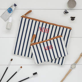 Cathy's Concepts CATHYS CONCEPTS Personalized Striped Clutch Set