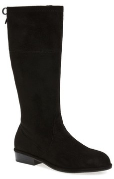 Stuart Weitzman Girl's Lowland Bow Riding Boot
